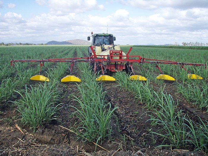 A more precise way of applying herbicides in sugar farming.  Photo credit: CSIRO