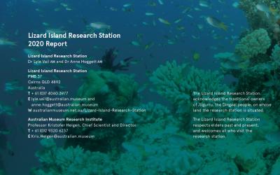 2020 Lizard Island Research Station Report